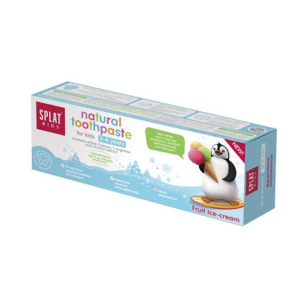 Splat Hambapasta Kids  Fruit ice-cream 2-6 a. 50 ml