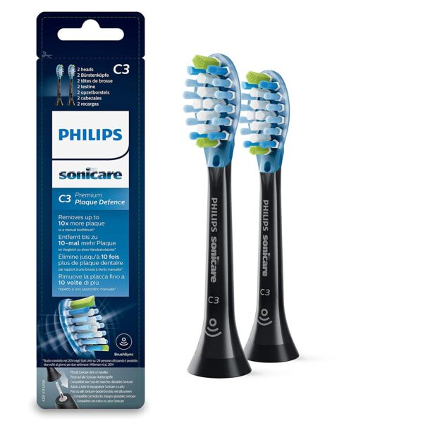 Philips Sonicare Premium Plaque Defence 2tk (mustad)