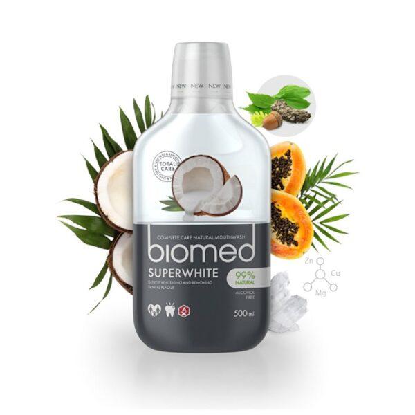 biomed superwhite suuvesi
