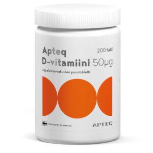 Apteq D-vitamiin