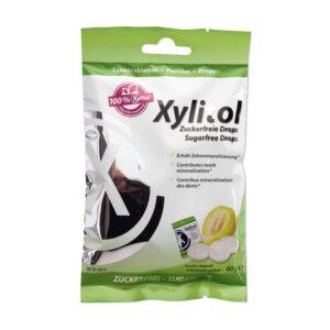 Miradent Xylitol drops melonimaitseline