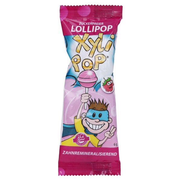 Miradent Xylipop pulgakomm ksülitooliga maasikamaitseline