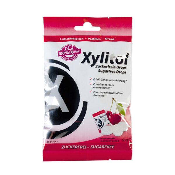 Miradent Xylitol drops kirsimaitseline