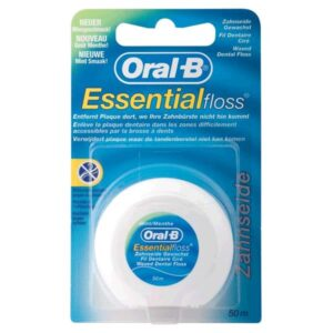 Oral-B vahatatud hambaniit Essential floss 50 m