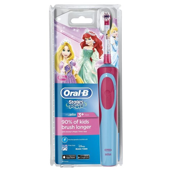 Oral-B Stages Power Princess elektriline hambahari