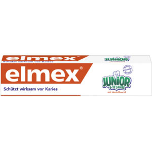 Elmex Junior hambapasta 6-12 a lastele 75ml