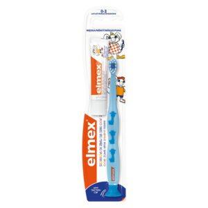 Elmex hambahari Training 0-3 a. lastele ja 12ml hambapasta