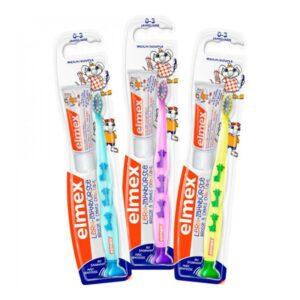 Elmex hambahari Learning 0-2 a. lastele ja 12ml hambapasta