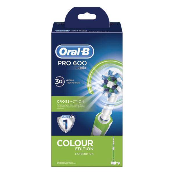 Oral-B PRO 600 Cross Action elektriline hambahari