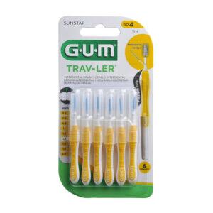 GUM Trav-Ler hambavaheharjad 1.3mm 6tk
