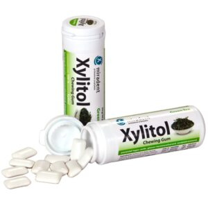 Miradent Xylitol närimiskumm rohelise tee maitseline 30 tk