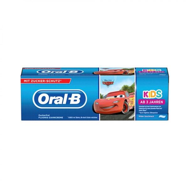 Oral-B hambapasta Cars