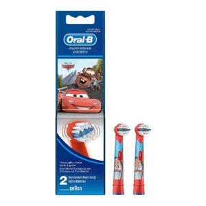 Oral-B lastehambaharja otsikud EB10-2 Cars