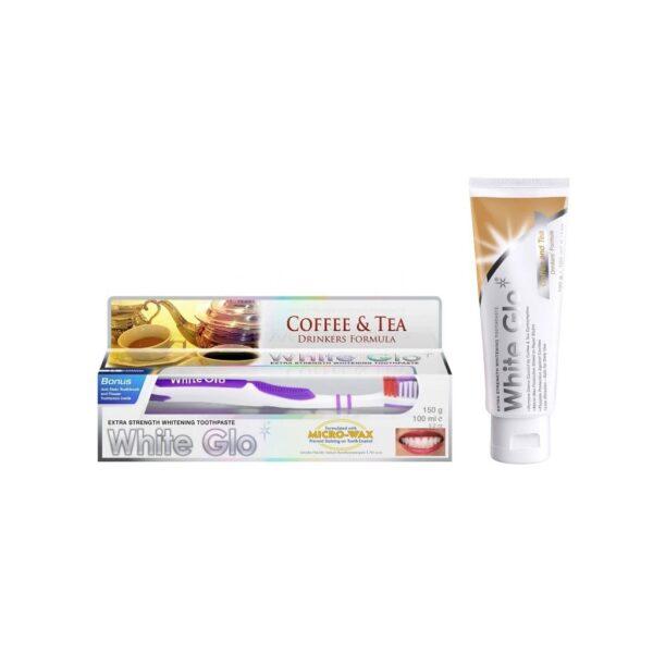 White Glo Coffee And Tea Drinkers Formula hambapasta 100 ml