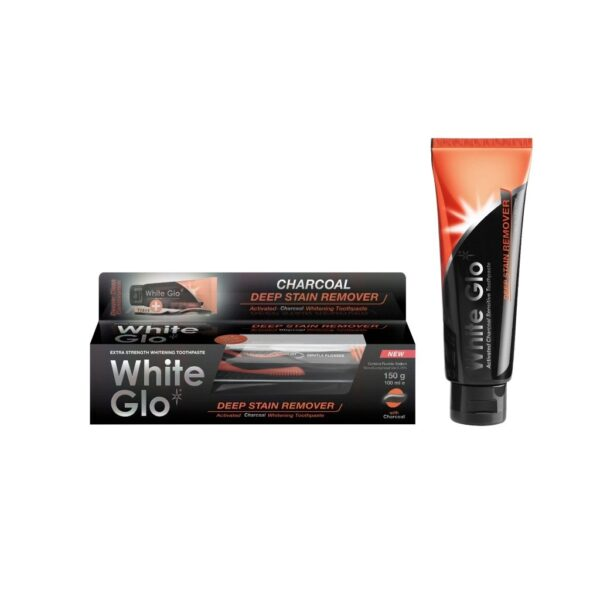 White Glo Deep Stain Remover aktiivsöega hambapasta 100 ml