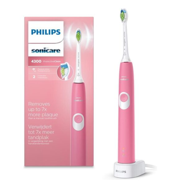Philips Sonicare ProtectiveClean 4300 roosa