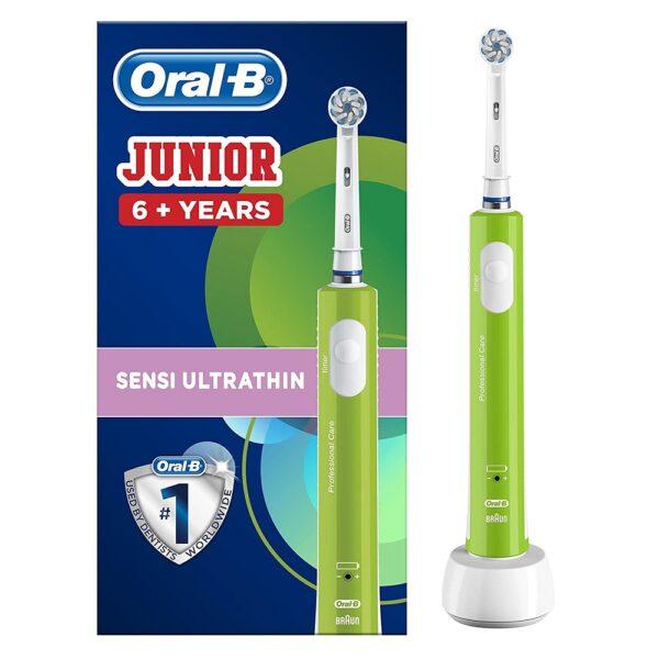 Oral-B Junior elektriline hambahari (roheline)