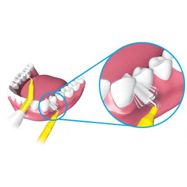 Piksters hambavaheharjad Kink 8 tk – vali suurus