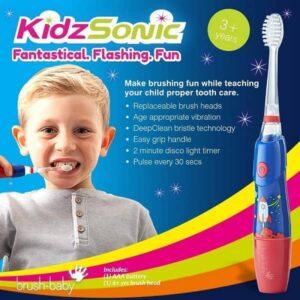 Brush-Baby KidzSonic Flashing 3+