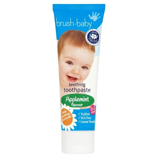 Brush-Baby Applemint hambapasta 0-2a. 50ml