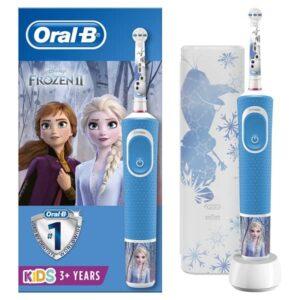 Oral-B elektriline hambahari Frozen II ja reisikarp