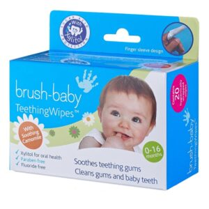 Brush-Baby TeethingWipes 0-16 kuud 20tk