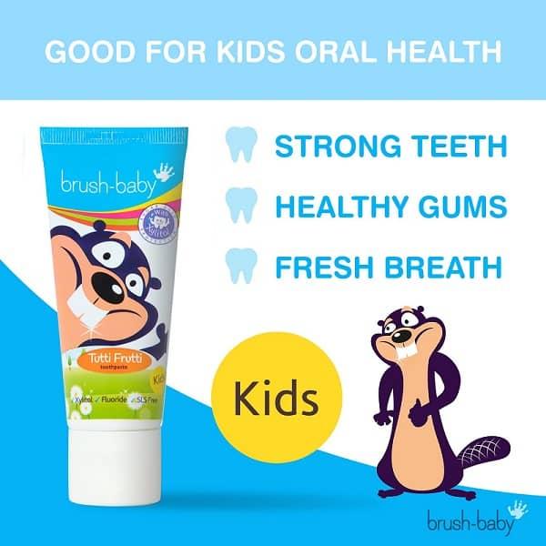Brush-Baby Tutti-Frutti hambapasta 3-6a. 50ml