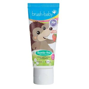 Brush-Baby Stawberry hambapasta 0-2a. 50ml