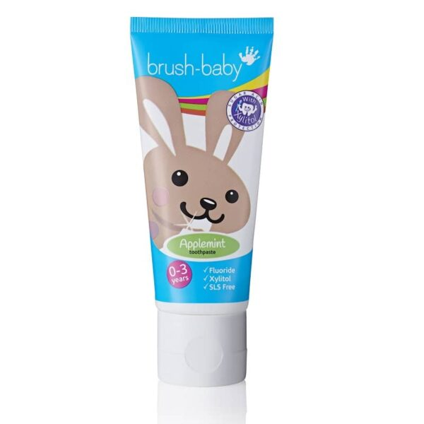 Brush-Baby Applemint hambapasta 0-3a. 50ml
