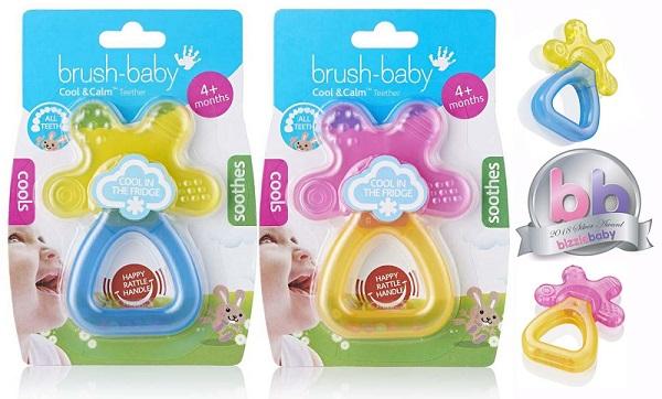brush baby cool calm