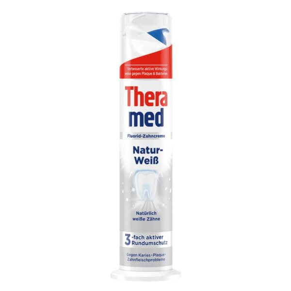 Theramed Natur Weiss hambapasta 100ml pump
