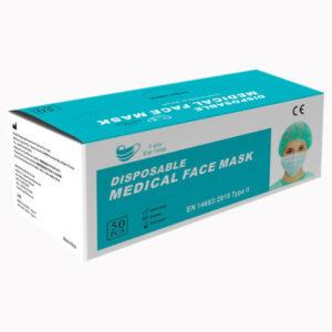 Kaitsemask meditsiiniline Type 2 - 50tk