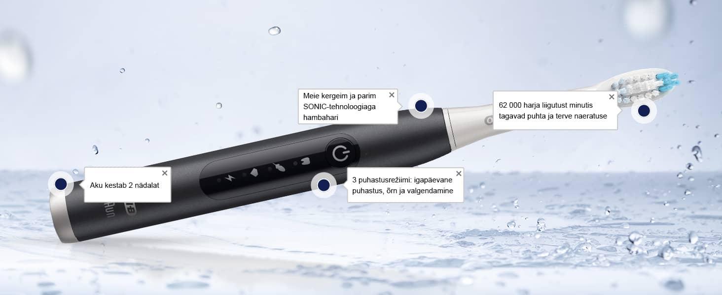 Oral-B Pulsonic Slim Luxe 4500 Platinum