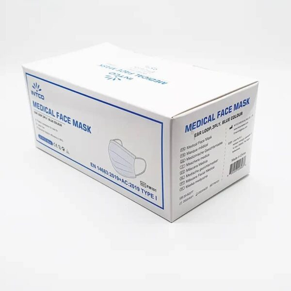 Kaitsemask meditsiiniline Type 1 - 50 tk