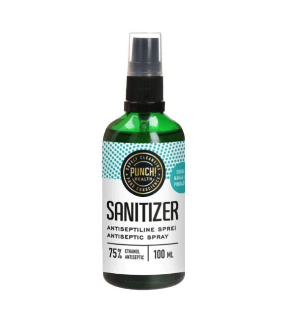 Punch! Sanitizer käte desinfitseerija sprei100ml