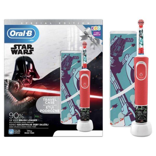 Oral-B elektriline hambahari Star Wars ja reisikarp