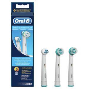 Oral-B harjade komplekt breketitele OD17 2tk + IP17 1tka