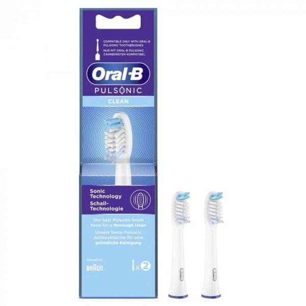 Oral-B Pulsonic Clean otsikud SR32C-2