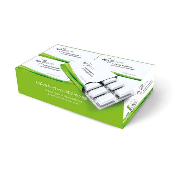 ApaCare hambaemaili mineraalide ja ksülitooliga närimiskumm 24 tk
