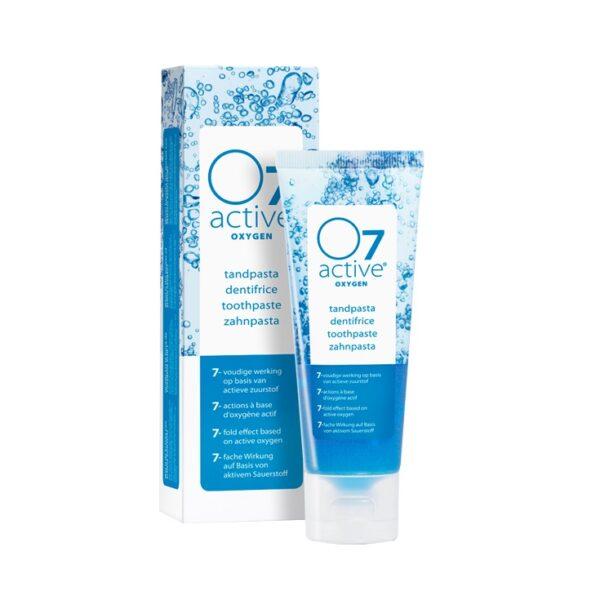O7 active hapnikuga rikastatud valgendav hambapasta 75 ml