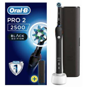 Oral-B PRO2 2500 ja reisikarp (must)
